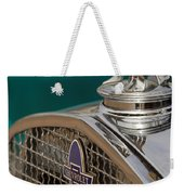 1931 Chevrolet Hood Ornament Weekender Tote Bag
