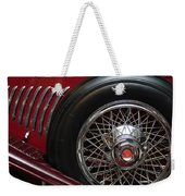 1931 Duesenberg Model J Spare Tire Weekender Tote Bag