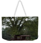 1931 Ford Model A Final Resting Place Weekender Tote Bag