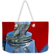 1931 Ford Model A Quail Hood Ornament Weekender Tote Bag