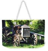 1931 Fordson Tractor Weekender Tote Bag