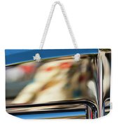 1931 Marmon Sixteen Coupe Hood Ornament Weekender Tote Bag