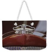 1931 Packard 840 Roadster Hood Ornament Weekender Tote Bag
