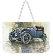 1932 Lagonda Low Chassis 2 Litre Supercharged Front Weekender Tote Bag