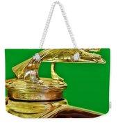 1932 Chevrolet Eagle Hood Ornament Weekender Tote Bag