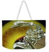 1932 Chevrolet Hood Ornament Weekender Tote Bag