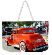1932 Ford  5 Window Coupe Weekender Tote Bag