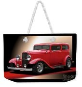 1932 Ford 'cherry Bomb' Sedan Weekender Tote Bag