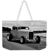 1932 Ford Coupe 'black And White' Weekender Tote Bag