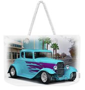 1932 Ford 'down Town' Coupe Weekender Tote Bag