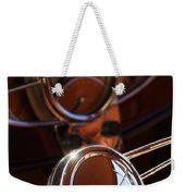 1932 Ford Hot Rod Steering Wheel Weekender Tote Bag