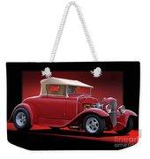 1932 Ford 'rag Top' Roadster Weekender Tote Bag