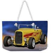 1932 Ford Roadster 'hiboy' Weekender Tote Bag