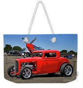 1932 Ford 'three Window' Coupe Vx Weekender Tote Bag