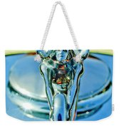 1932 Packard Hood Ornament 3 Weekender Tote Bag