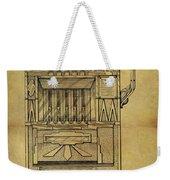 1932 Slot Machine Patent Weekender Tote Bag