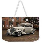 1933 Buick Victoria 'bootleg Beauty' Weekender Tote Bag
