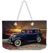 1933 Chevrolet 4 Door Eagle Sedan Weekender Tote Bag