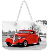 1933 Ford 'three Window' Coupe I Weekender Tote Bag