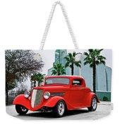1933 Ford 'three Window' Coupe II Weekender Tote Bag