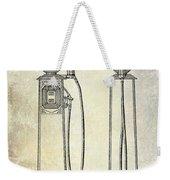 1933 Gas Pump Patent Weekender Tote Bag