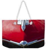 1933 Oldsmobile Hood Ornament Weekender Tote Bag
