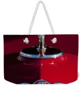 1933 Pontiac Hood Ornament 2 Weekender Tote Bag