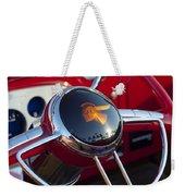 1933 Pontiac Steering Wheel Weekender Tote Bag