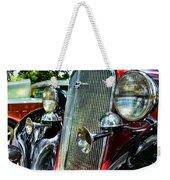1934 Chevrolet Head Lights Weekender Tote Bag