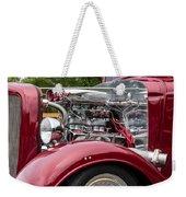 1934 Chevy Truck Motor Weekender Tote Bag