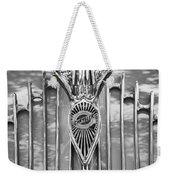1934 Chrysler Airflow Hood Ornament Weekender Tote Bag