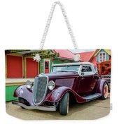 1934 Ford Roadster Hot Rod Weekender Tote Bag