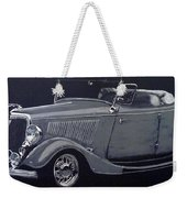 1934 Ford Roadster Weekender Tote Bag