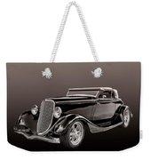 1934 Ford Roadster Weekender Tote Bag