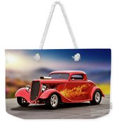 1934 Ford 'three Window' Coupe I Weekender Tote Bag