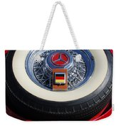1934 Mercedes Benz 500k Roadster 8 Spare Tire Weekender Tote Bag
