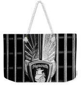 1934 Plymouth Emblem 2 Weekender Tote Bag