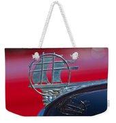 1934 Plymouth Hood Ornament 2 Weekender Tote Bag