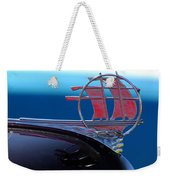 1934 Plymouth Hood Ornament Weekender Tote Bag