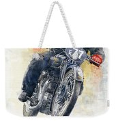 1934 Rudge Ulster Grand Prix Model  Weekender Tote Bag