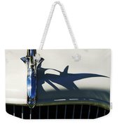 1934 Terraplane Coupe Hood Ornament Weekender Tote Bag