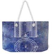 1935 Beer Equipment Patent Blue Weekender Tote Bag