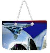 1935 Brewster Hood Ornament Weekender Tote Bag by Jill Reger