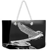 1935 Chevrolet Hood Ornament 4 Weekender Tote Bag