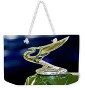 1935 Chevrolet Hood Ornament Weekender Tote Bag