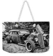 1935 Chevy Sedan Rat Rod Weekender Tote Bag