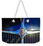 1935 Chrysler Hood Ornament 2 Weekender Tote Bag by Jill Reger