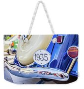 1935 Colour Weekender Tote Bag by Gary Gillette