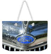 1935 Ford V8 Hood Ornament 2 Weekender Tote Bag