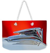 1935 Ford V8 Hood Ornament 3 Weekender Tote Bag